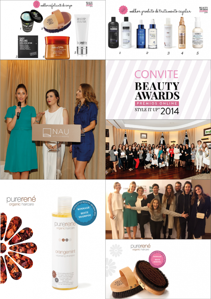 René Professional ontvangt de Beauty Award 2014