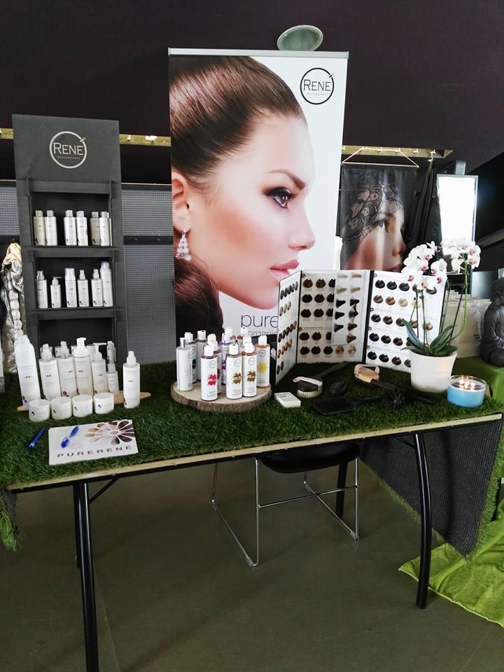 Hellen's Hairspa promoot PureRené organic haircare