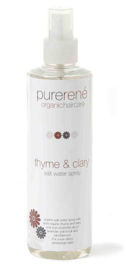 Pure Rene Thyme & Clary Salt Water Spray